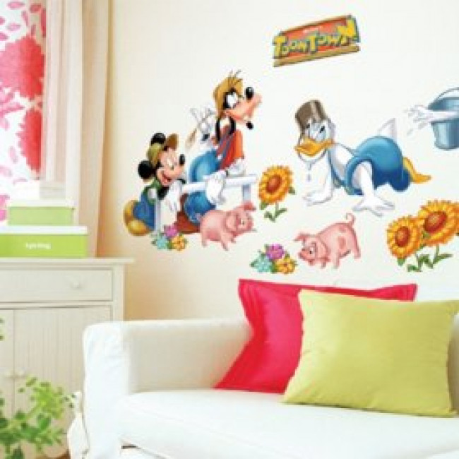 Muurstickers Mickey Mouse 2016