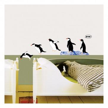muurstickers dieren pinguins