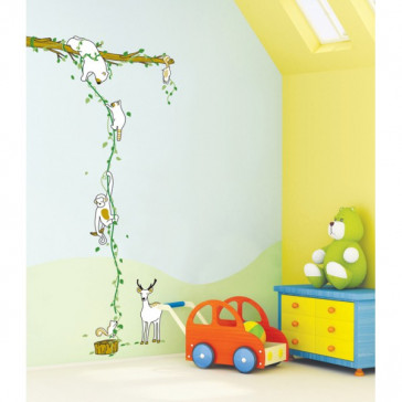 muurstickers babykamer Jungle