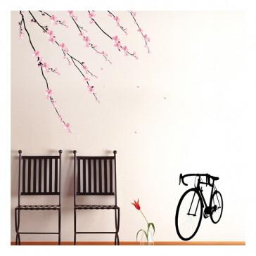 muurstickers kersenbloesem sakura