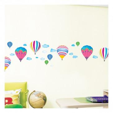 muurstickers babykamer luchtballon