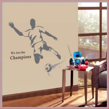Muurstickers voetbal