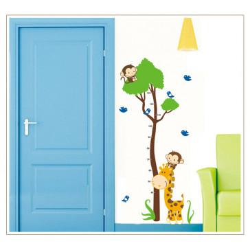 Kinderkamer Muursticker Lengtemeter
