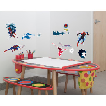 muurstickers kinderkamer spiderman