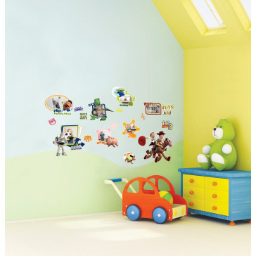 muurstickers kinderkamer toy story
