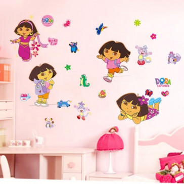 Muursticker Dora the Explorer