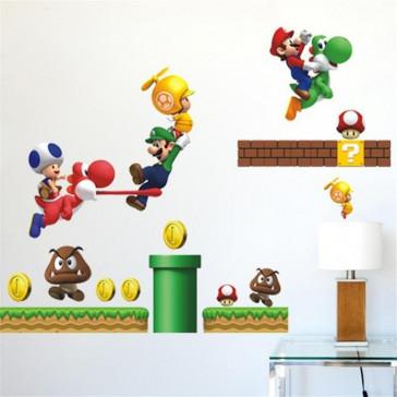 Muursticker Super Mario Bros. U