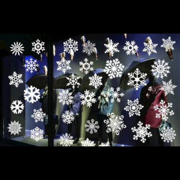 Kerstmis Raam Sterren Sticker