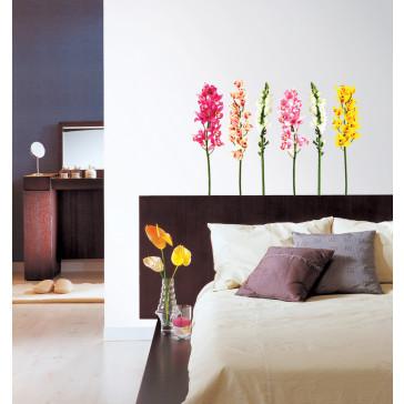 Goedkope muursticker bloemen