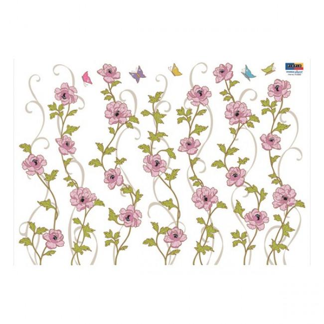 muurstickers bloemen mooiemuurstickersnl