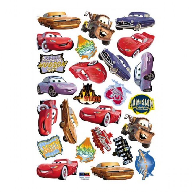 Cars Muurstickers Kinderkamer.Muursticker Disney Cars
