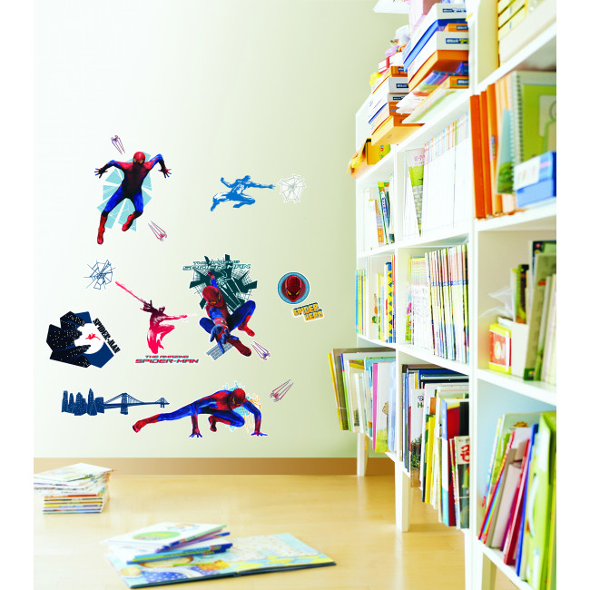 Muurstickers Kinderkamer Spiderman.Muurstickers Spider Man Mooiemuurstickers Nl