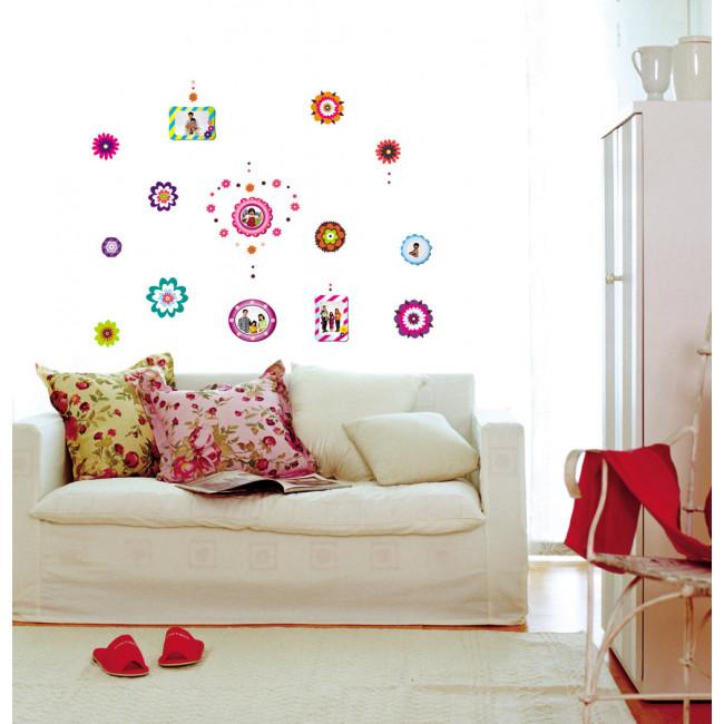 muurstickers bloemen amp fotos slaapkamer en kinderkamer