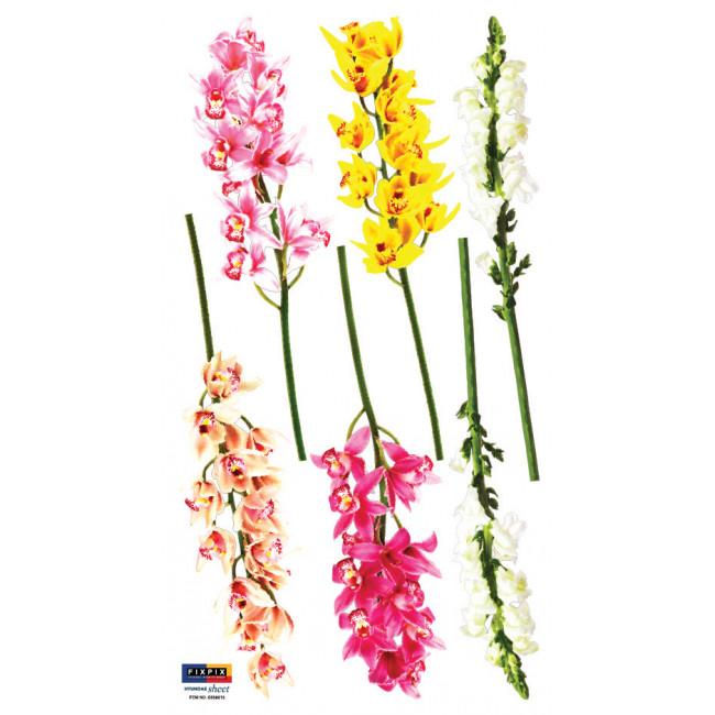 muurstickers bloemen leuk voor de slaapkamer