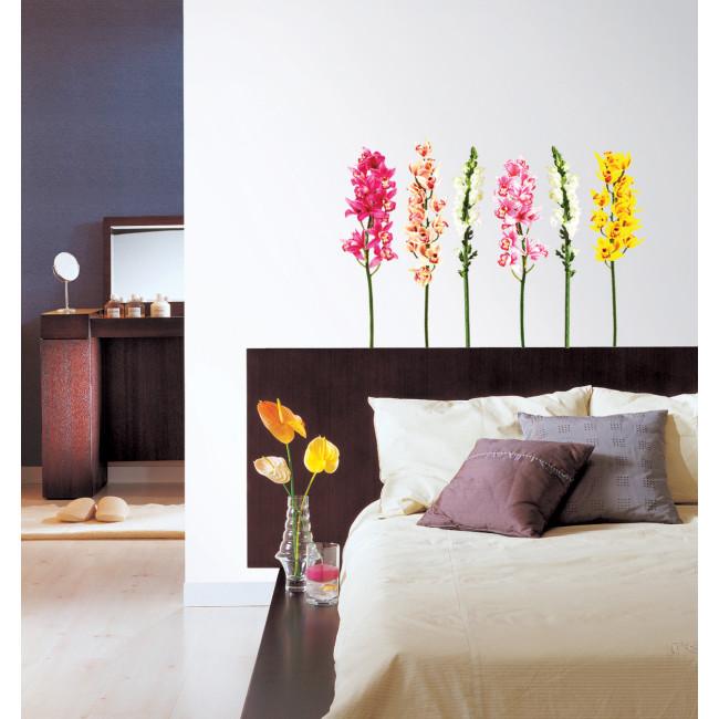 Muurstickers Bloemen | Leuk voor de Slaapkamer | MooieMuurstickers.nl