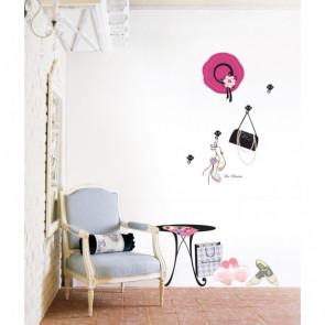 muurstickers design kleedkamer