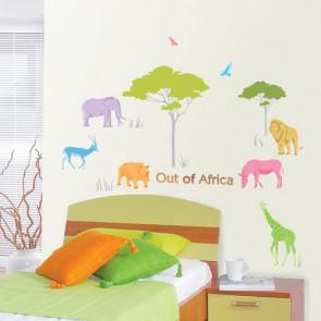 muurstickers kinderkamer afrika