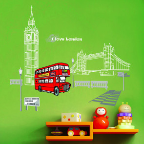 muurstickers london