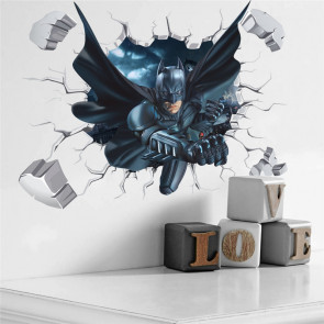 Muursticker Batman 3D