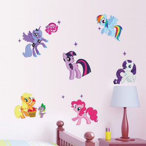 Muursticker My Little Pony