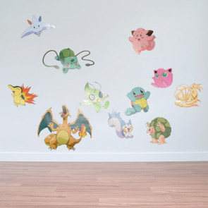 Muursticker Pokemon