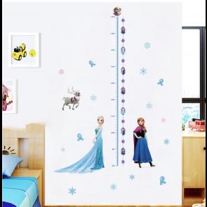 Muursticker Disney Frozen Lengtemeter