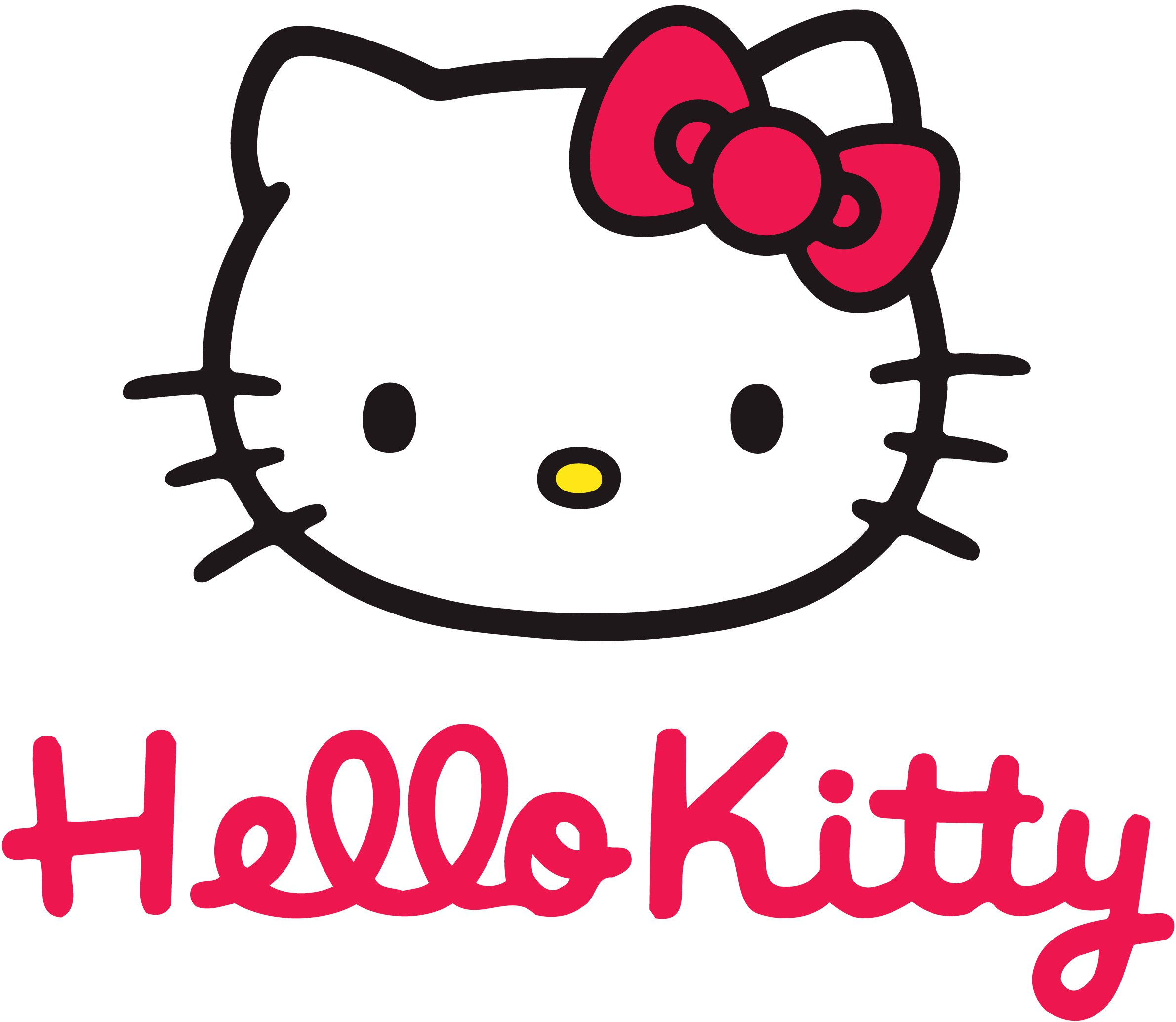 Muursticker Hello Kitty